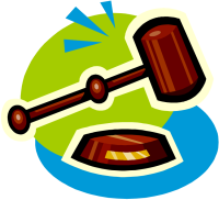 Clipart depicting legal judgement (19353 bytes)
