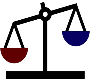 Clipart depicting legal scales (10292 bytes)