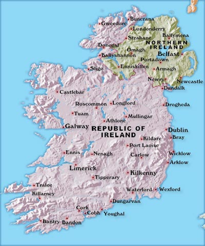 Map of Ireland (44,752 bytes)