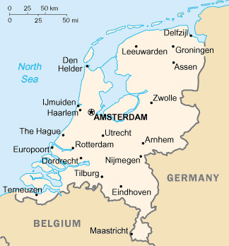 Map of the Netherlands (108,8243 bytes)